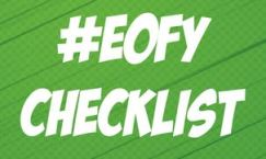Basics about Super – EOFY – End of Financial Year – last days – Checklist!!