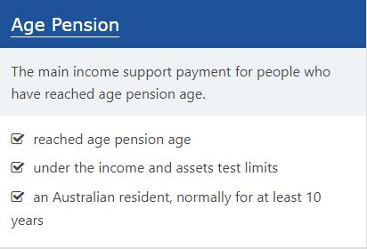 Pensions Centrelink – Am I eligible for pension?